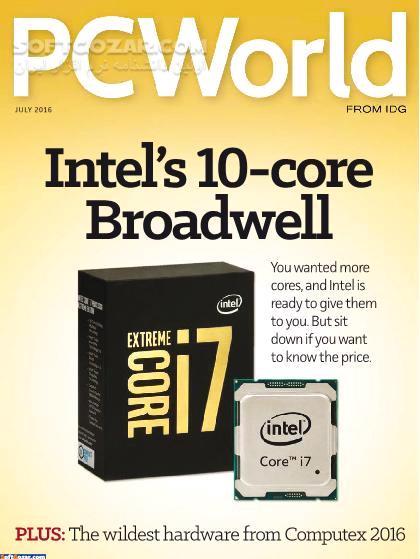 PC World Magazine January 2016 December 2016 تصاویر نرم افزار  - سافت گذر