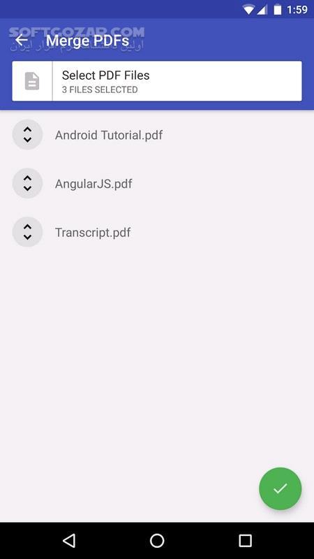 PDF Tools 3 2 for android 4 0 3 تصاویر نرم افزار  - سافت گذر