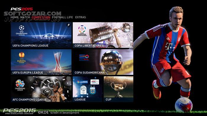 Pro Evolution Soccer 2015 PS3 تصاویر نرم افزار  - سافت گذر