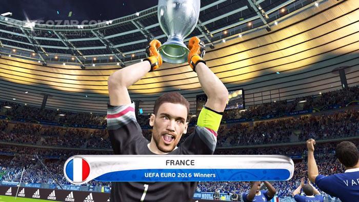 UEFA Euro 2016 France تصاویر نرم افزار  - سافت گذر