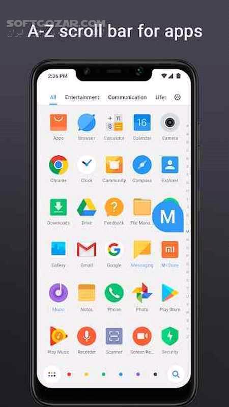 POCO Launcher 2 7 2 7 For Android 5 0 تصاویر نرم افزار  - سافت گذر