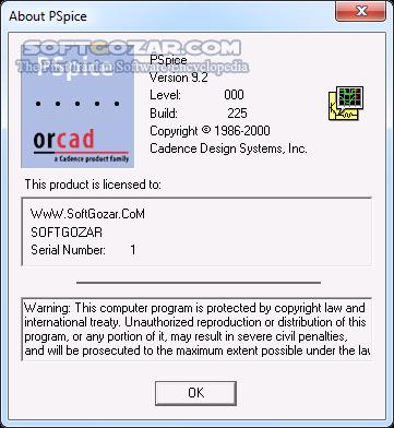PSpice 9 2 Portable تصاویر نرم افزار  - سافت گذر