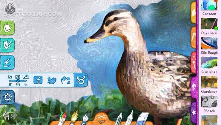 Paper Artist 2 1 0 for Android 4 0 تصاویر نرم افزار  - سافت گذر