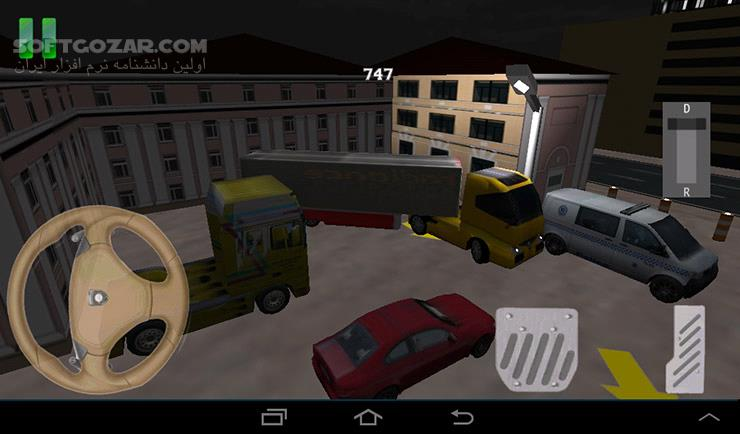 Parking Truck Deluxe 2 7 for Android تصاویر نرم افزار  - سافت گذر