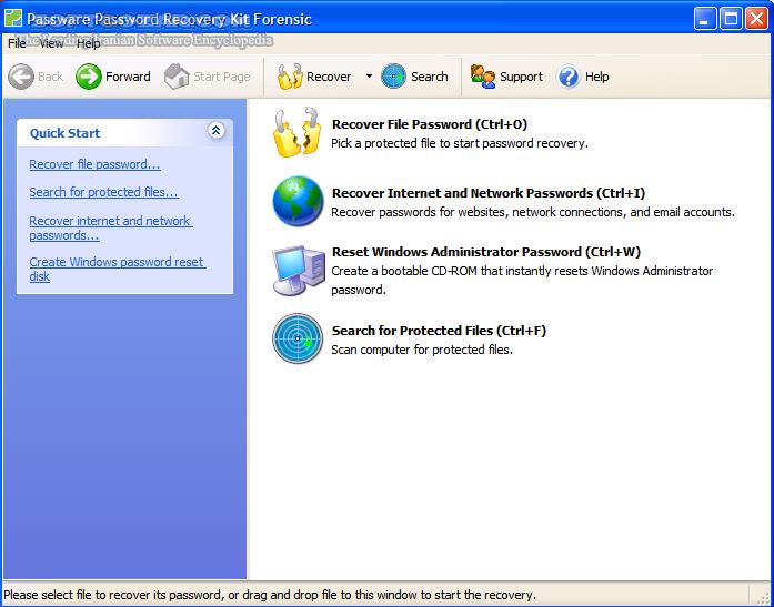 Passware Kit Forensic 2017 4 0 x86 x64 تصاویر نرم افزار  - سافت گذر