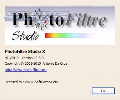 PhotoFiltre Studio X 10 14 0 Portable تصاویر نرم افزار  - سافت گذر