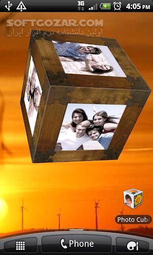 Photo Cube 2 2 for Android تصاویر نرم افزار  - سافت گذر