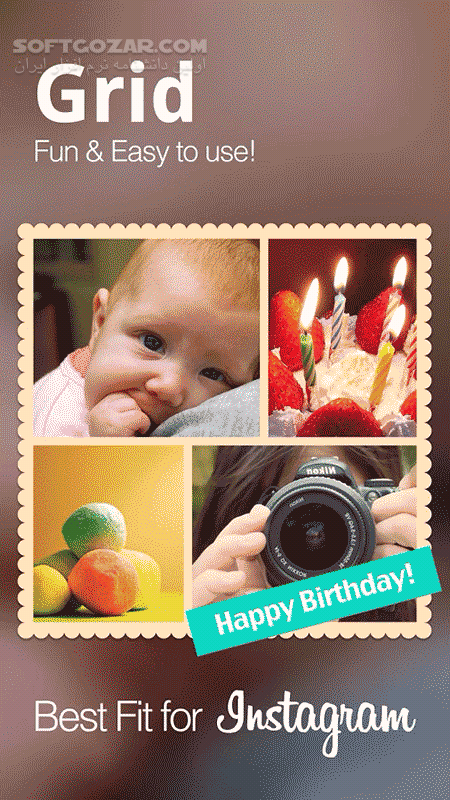 Photo Grid-Photo Collage Maker Premium 6 69 for Android 3 0 تصاویر نرم افزار  - سافت گذر