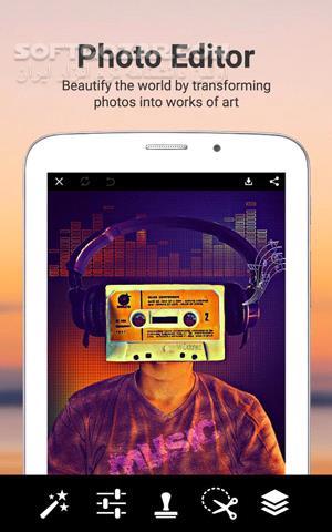 PicsArt Photo Studio 13 7 4 Unlocked for Android 4 0 تصاویر نرم افزار  - سافت گذر