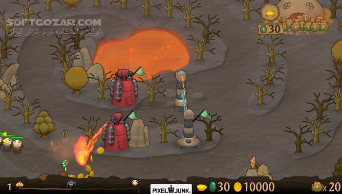 PixelJunk Monsters Ultimate تصاویر نرم افزار  - سافت گذر