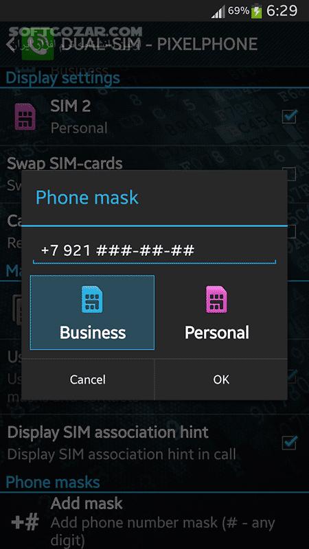 PixelPhone Pro 3 9 9 10 for Android 2 1 تصاویر نرم افزار  - سافت گذر