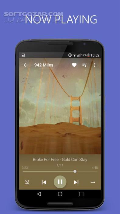 Pixel Music Player 3 4 5 for Android 4 1 تصاویر نرم افزار  - سافت گذر