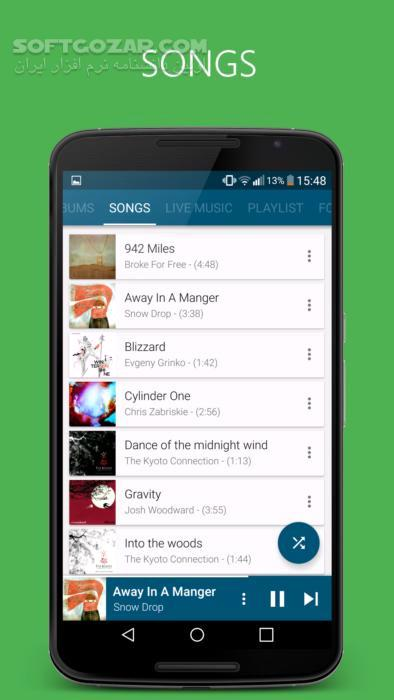 Pixel Music Player 3 4 5 for Android 4 1 تصاویر نرم افزار  - سافت گذر
