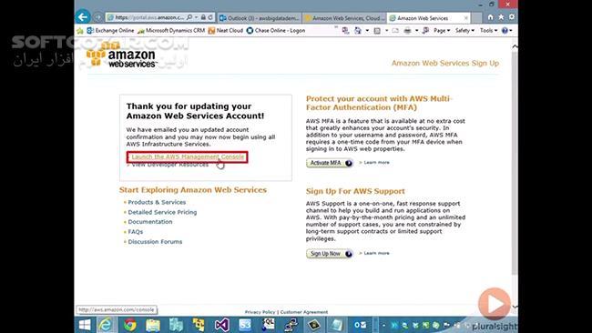 Pluralsight Big Data on Amazon Web Services تصاویر نرم افزار  - سافت گذر