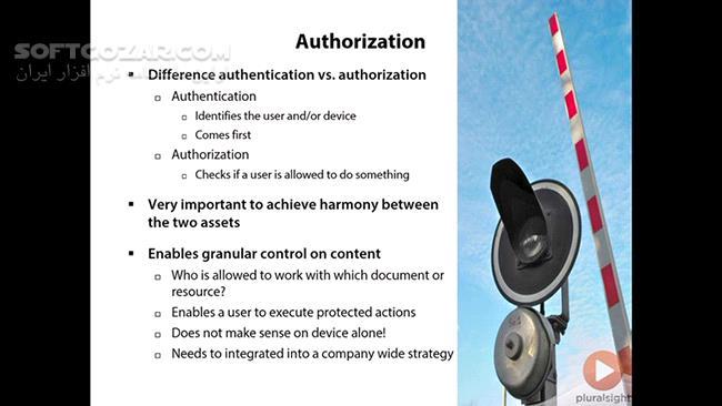 Pluralsight Enterprise Strength Mobile Device Security تصاویر نرم افزار  - سافت گذر