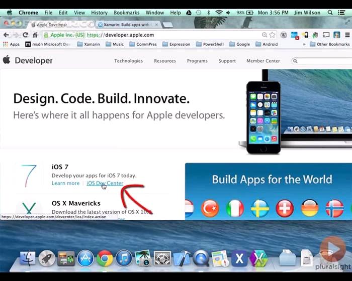 Pluralsight Cross Platform iOS Android with Visual Studio and C# Part 1 2 تصاویر نرم افزار  - سافت گذر