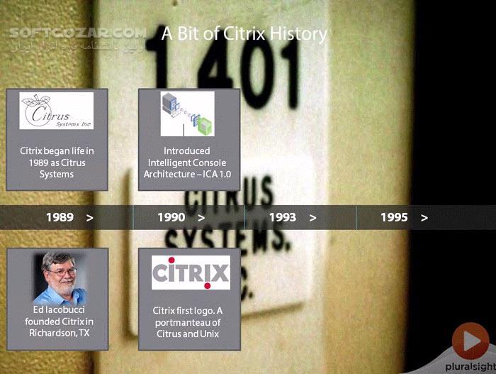 Pluralsight Introduction to Citrix XenDesktop 7 تصاویر نرم افزار  - سافت گذر