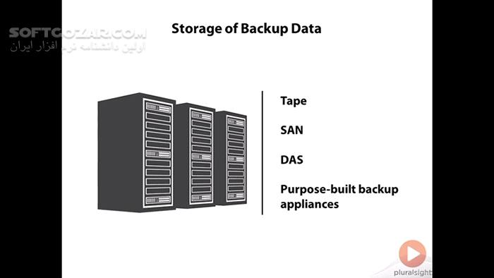 Pluralsight VMware vSphere Data Protection تصاویر نرم افزار  - سافت گذر