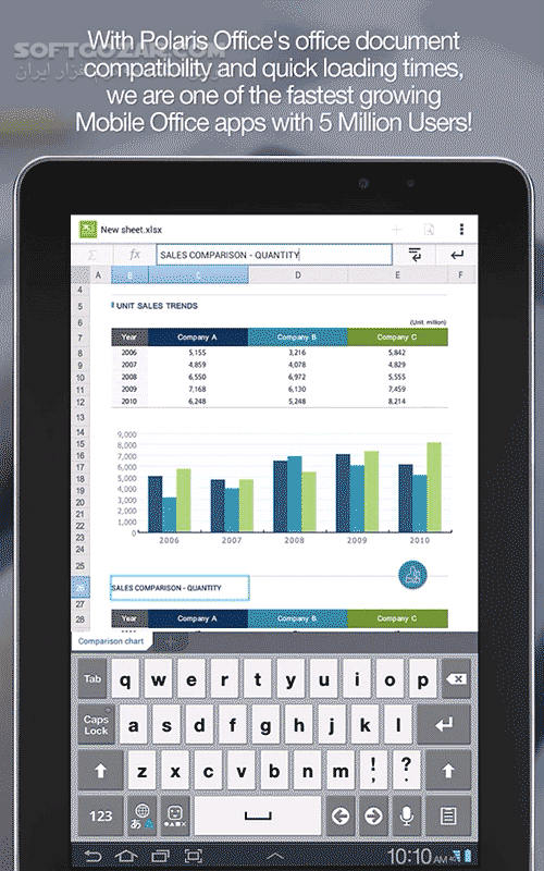 Polaris Office PDF 7 6 4 for Android 4 0 تصاویر نرم افزار  - سافت گذر