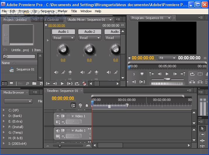 Portable Adobe Premiere Pro CS4 v4 2 1 تصاویر نرم افزار  - سافت گذر