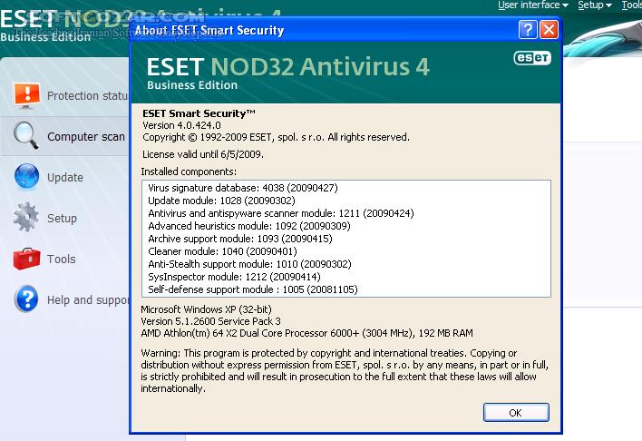 Portable ESET Endpoint Antivirus 5 0 2229 1 (Update 10300) 2014 08 23 تصاویر نرم افزار  - سافت گذر