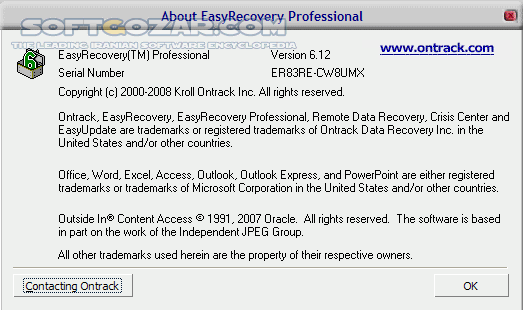 Ontrack EasyRecovery Professional 13 0 0 0 Technician Premium Toolkit Enterprise 11 5 0 3 Mac تصاویر نرم افزار  - سافت گذر