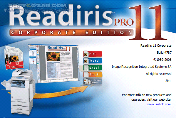 Readiris Corporate 17 2 Build 9 16 0 0 Build 9472 Middle Eastern Portable Mac تصاویر نرم افزار  - سافت گذر