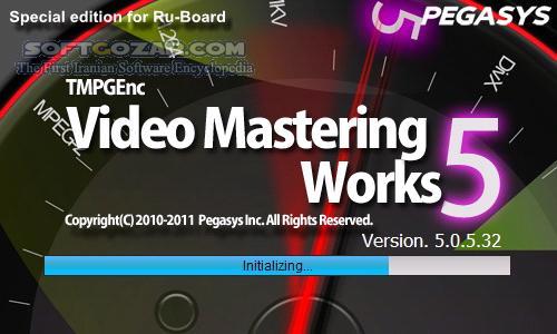 TMPGEnc Video Mastering Works 5 0 6 38 Retail Portable تصاویر نرم افزار  - سافت گذر
