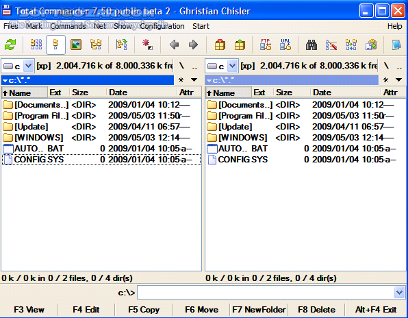 Total Commander 9 21a Final Portable Ultima Prime 7 5 تصاویر نرم افزار  - سافت گذر