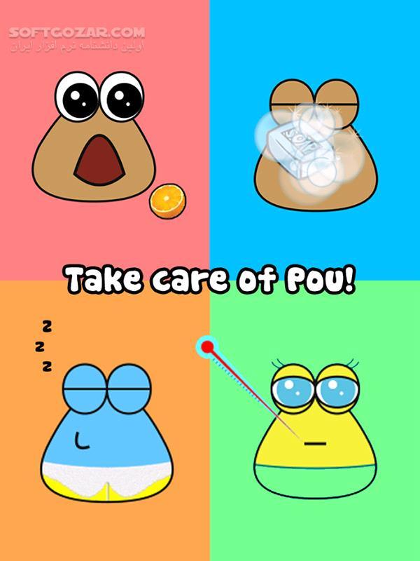Pou 1 4 77 for Android 1 6 تصاویر نرم افزار  - سافت گذر