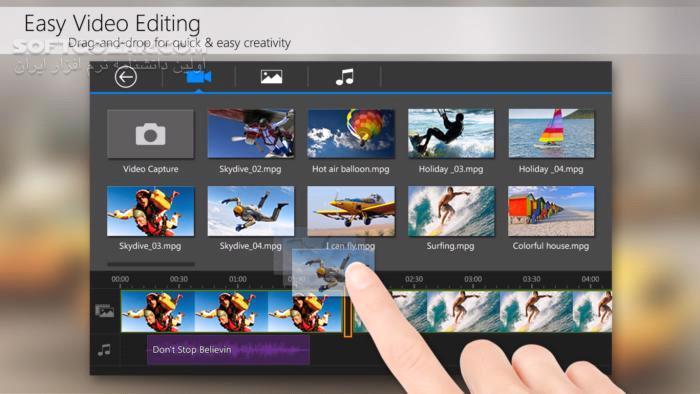 PowerDirector – Video Editor FULL 5 4 3 for Android 4 3 تصاویر نرم افزار  - سافت گذر