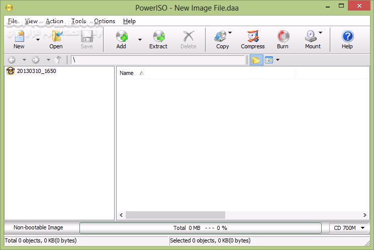 PowerISO 7 5 Retail Portable تصاویر نرم افزار  - سافت گذر