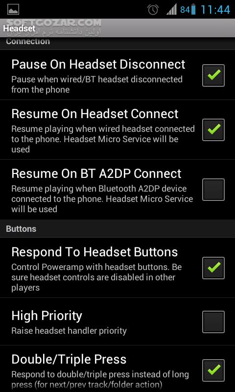 PowerAMP Music Player 3 860 for Android 5 0 تصاویر نرم افزار  - سافت گذر