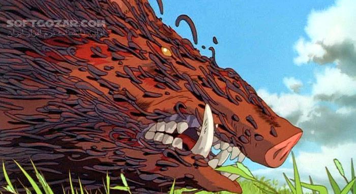 Princess Mononoke تصاویر نرم افزار  - سافت گذر