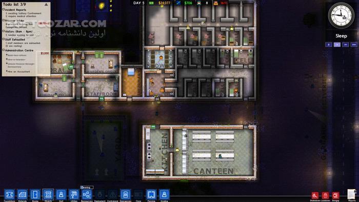 Prison Architect 2 6 0 9 v12b تصاویر نرم افزار  - سافت گذر