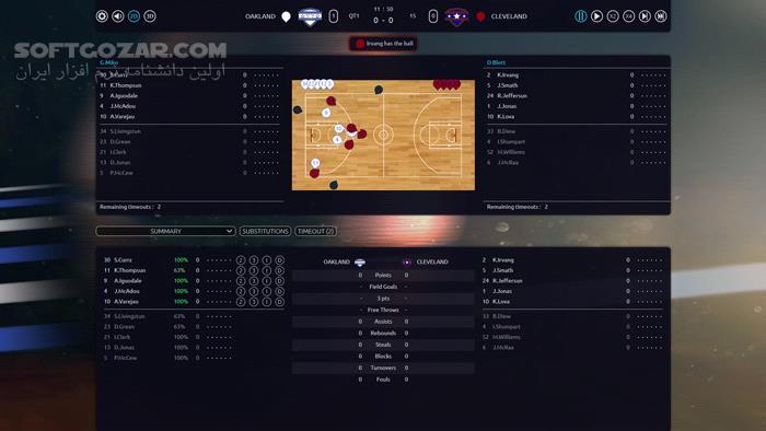 Pro Basketball Manager 2017 تصاویر نرم افزار  - سافت گذر