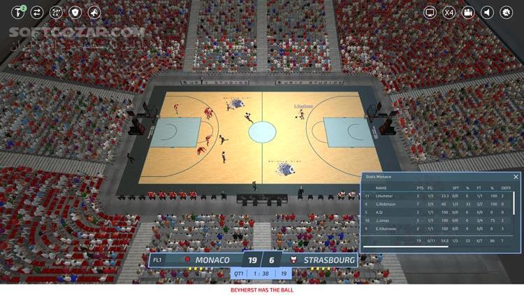 Pro Basketball Manager 2019 Updates تصاویر نرم افزار  - سافت گذر