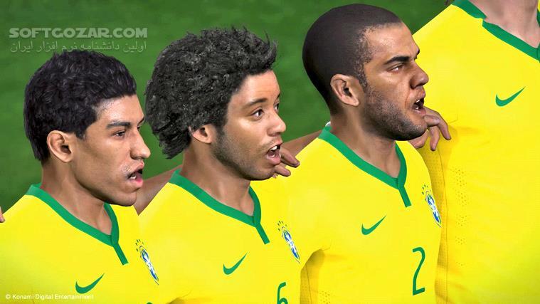 Pro Evolution Soccer 2014 World Challenge Update 1 16 تصاویر نرم افزار  - سافت گذر