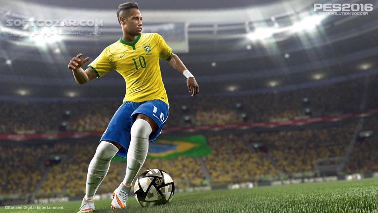 PES 2016 Pro Evolution Soccer 2016 Update v1 04 with DataPack 3 0 تصاویر نرم افزار  - سافت گذر