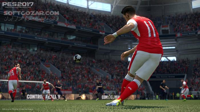 PES 2017 Pro Evolution Soccer 2017 تصاویر نرم افزار  - سافت گذر