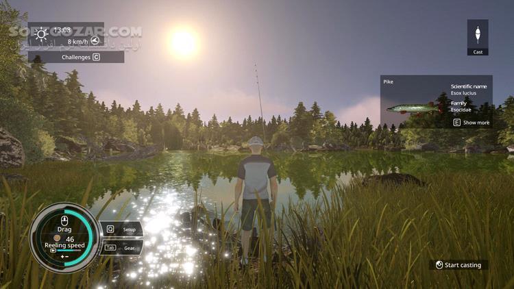 Pro Fishing Simulator تصاویر نرم افزار  - سافت گذر