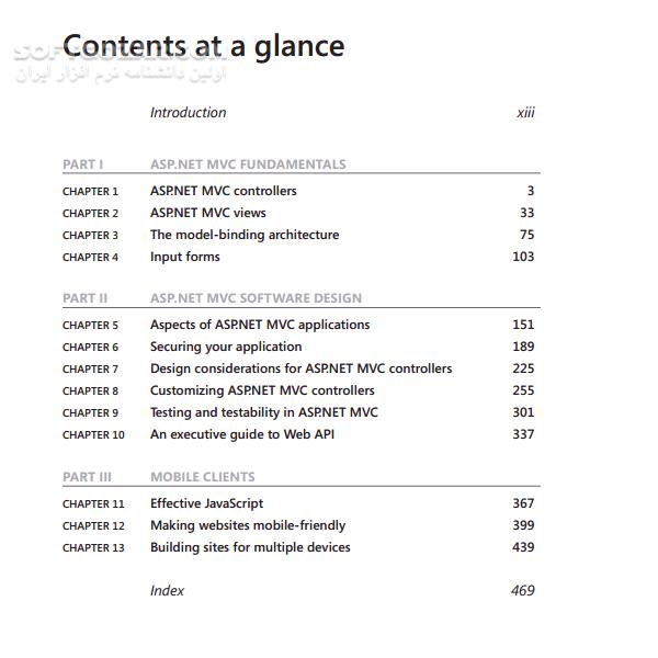 Programming Microsoft ASP NET MVC تصاویر نرم افزار  - سافت گذر