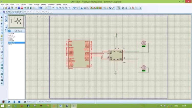 Proteus Professional 8 9 SP0 Build 27865 8 8 SP1 8 7 SP3 8 6 SP3 تصاویر نرم افزار  - سافت گذر