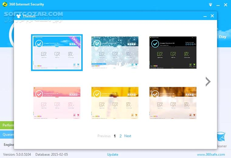 Qihoo 360 Total Security 10 6 0 1179 Essential 8 8 0 1114 Database macOS تصاویر نرم افزار  - سافت گذر