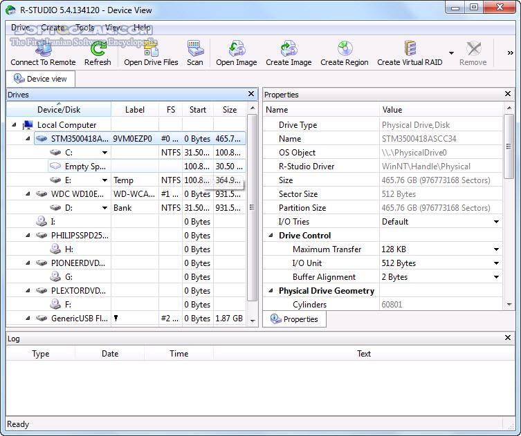 R Studio 8 11 Build 175357 Network Technician Emergency Network GUI TUI 8 9 0681 تصاویر نرم افزار  - سافت گذر