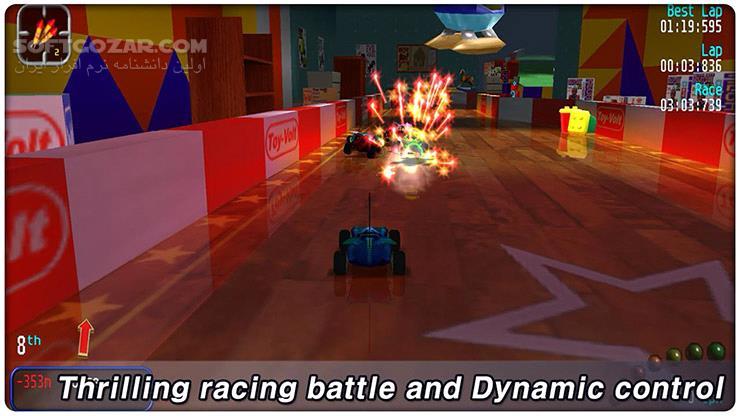 RE VOLT Classic 3D Racing Premium 1 2 9 for Android 2 3 تصاویر نرم افزار  - سافت گذر