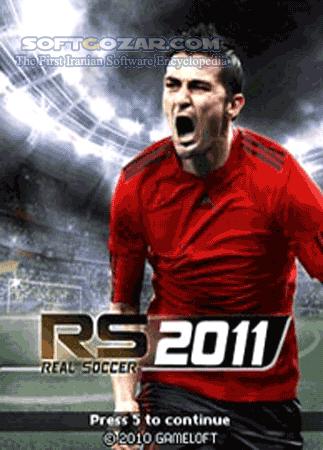 Real Football 2011 تصاویر نرم افزار  - سافت گذر