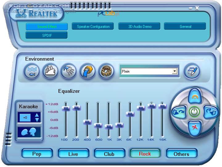 Realtek AC97 Audio Driver A4 06 for Windows 98,ME,2000,XP,2003 6 305 for Windows Vista,7 تصاویر نرم افزار  - سافت گذر