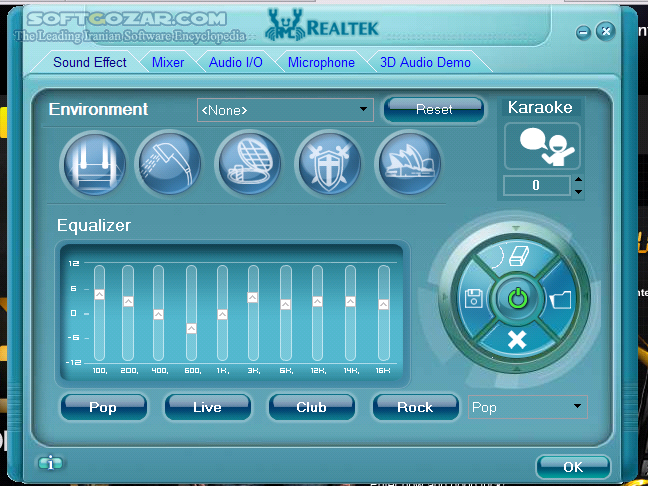 Realtek High Definition Audio Drivers 6 0 1 8619 WHQL R2 82 تصاویر نرم افزار  - سافت گذر