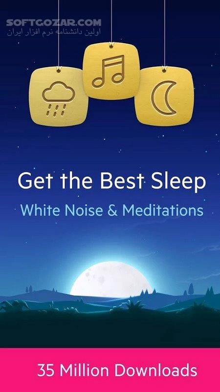 Relax Melodies Premium Sleep Sounds 7 7 536 for Android 2 2 تصاویر نرم افزار  - سافت گذر